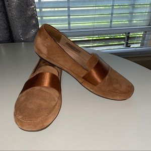 Vionic Suede Loafers